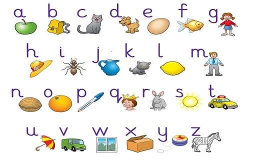 تحميل كتاب تعليم الحروف الانجليزية للاطفال والمبتدئين pdf مجانا